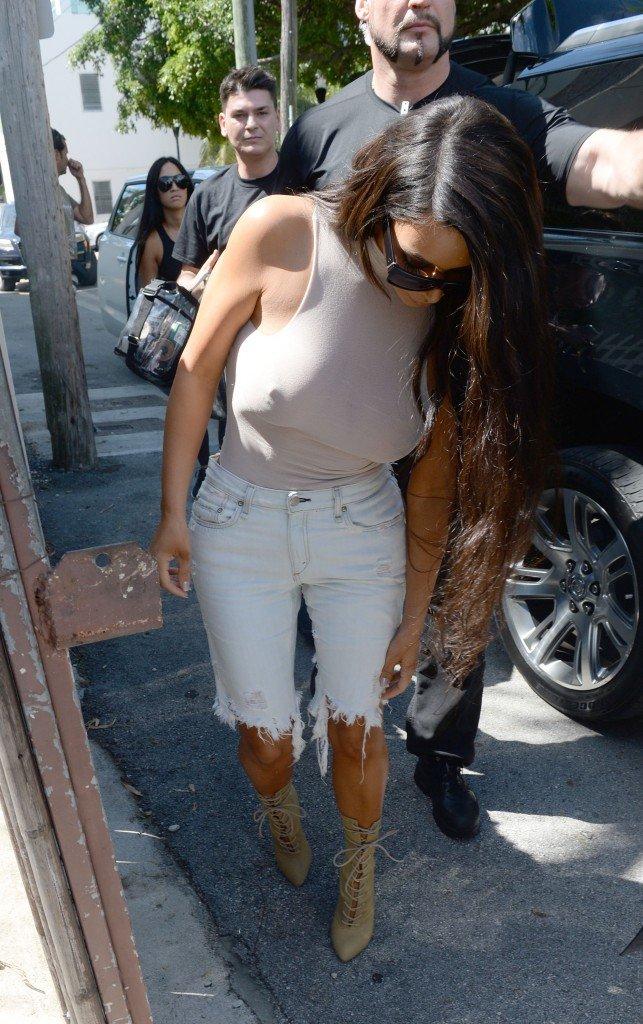 Kim Kardashian See Through 56