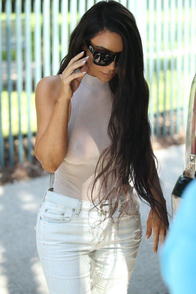 Kim Kardashian See Through 57