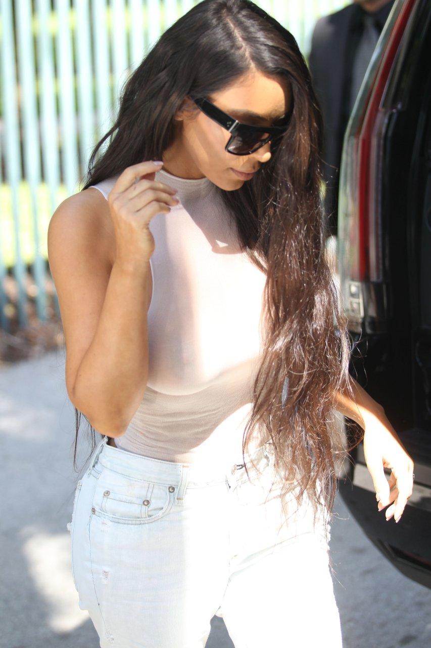 Kim Kardashian See Through (132 Photos) | #TheFappening