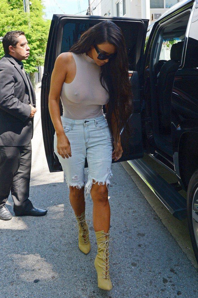 Kim Kardashian See Through 7