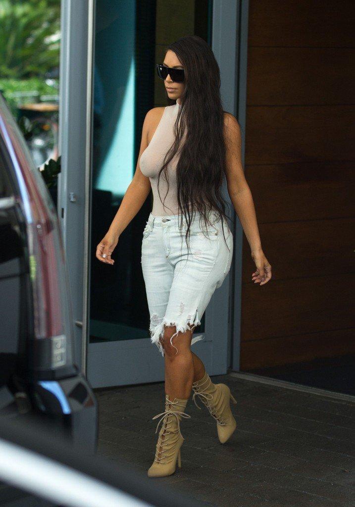 Kim Kardashian See Through 74