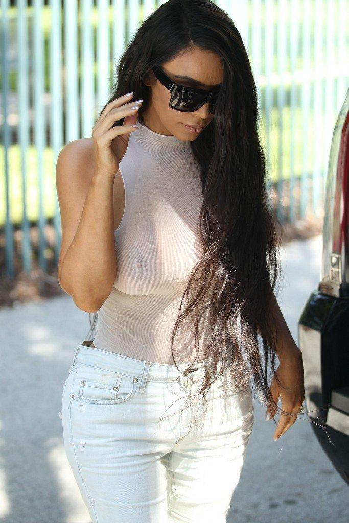 Kim Kardashian See Through 79