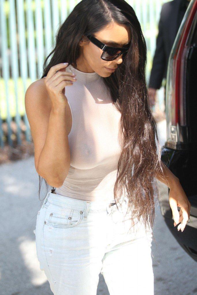 Kim Kardashian See Through 80