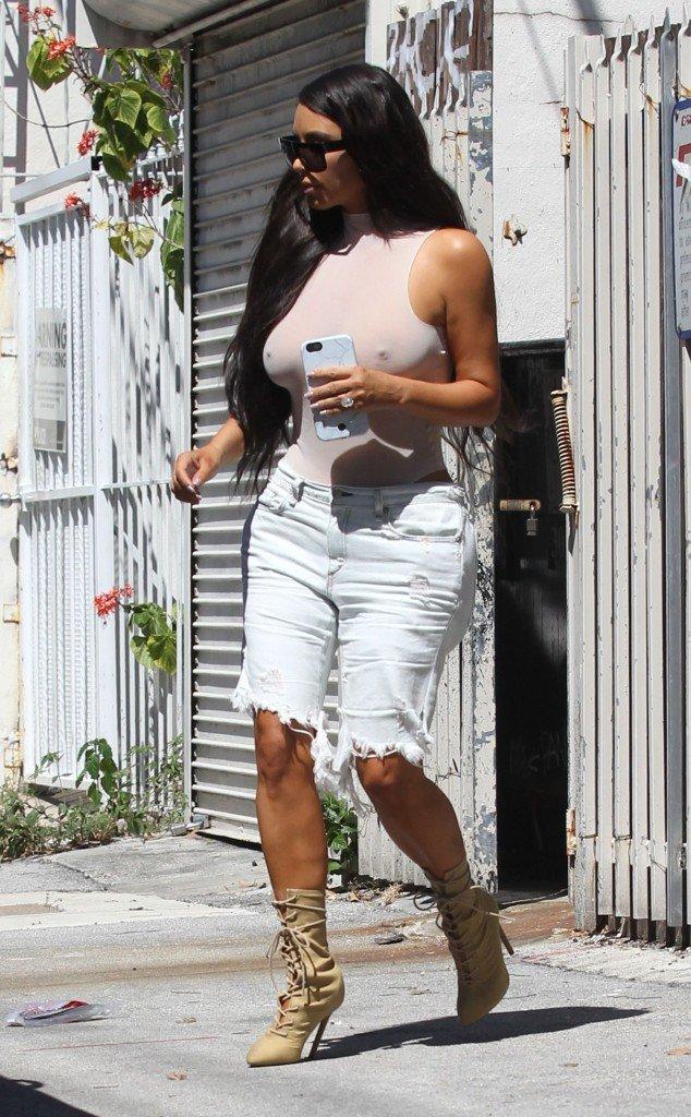 Kim Kardashian See Through 92