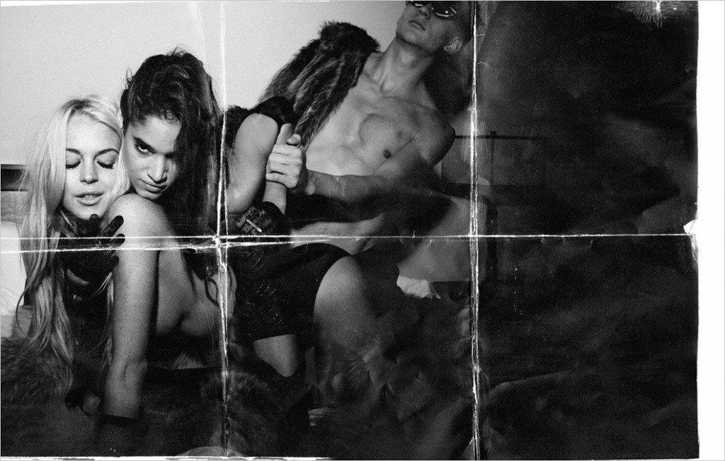 Lindsay Lohan Topless & Sexy 3