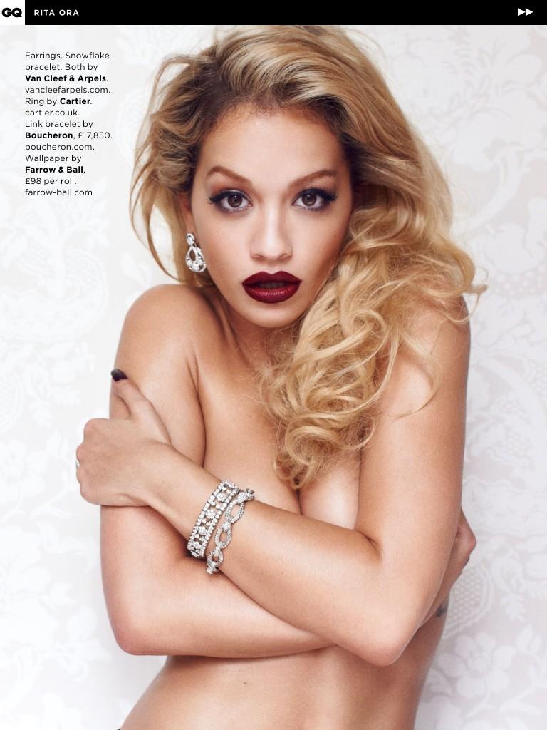 Rita Ora Sexy & Topless (21 Photos + Video)
