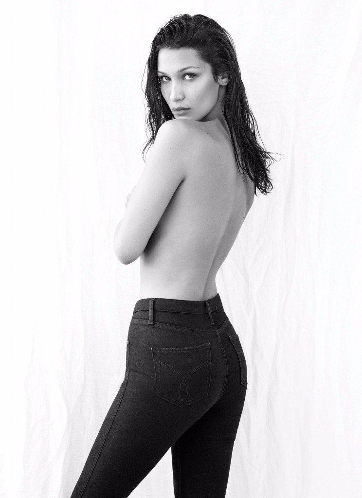 Bella Hadid Sexy Topless 3