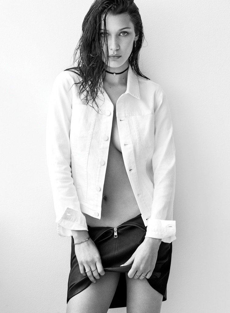 Bella Hadid Sexy Topless 6