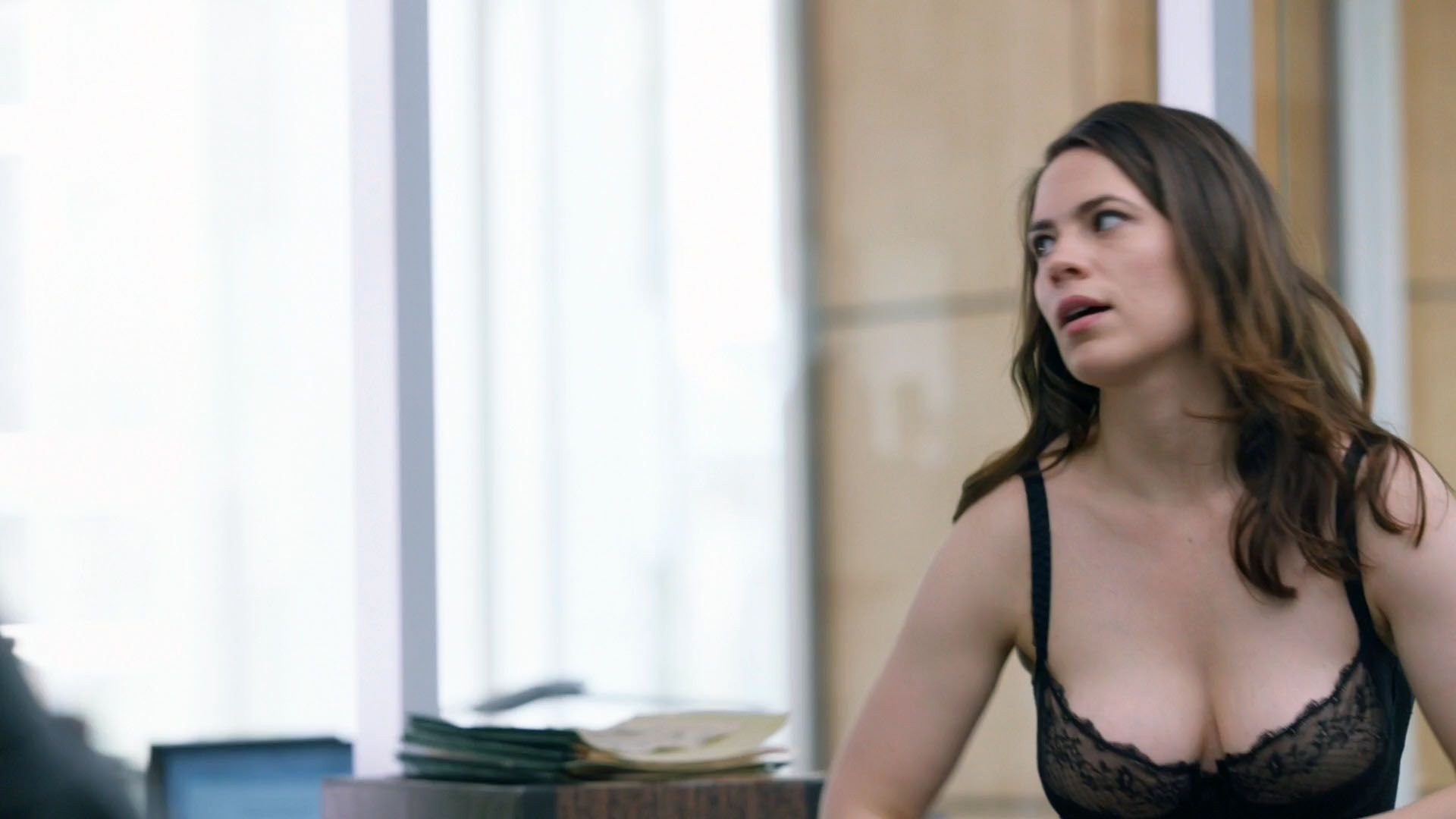Hayley atwell nude video