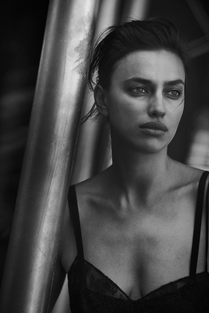 Irina Shayk See Through