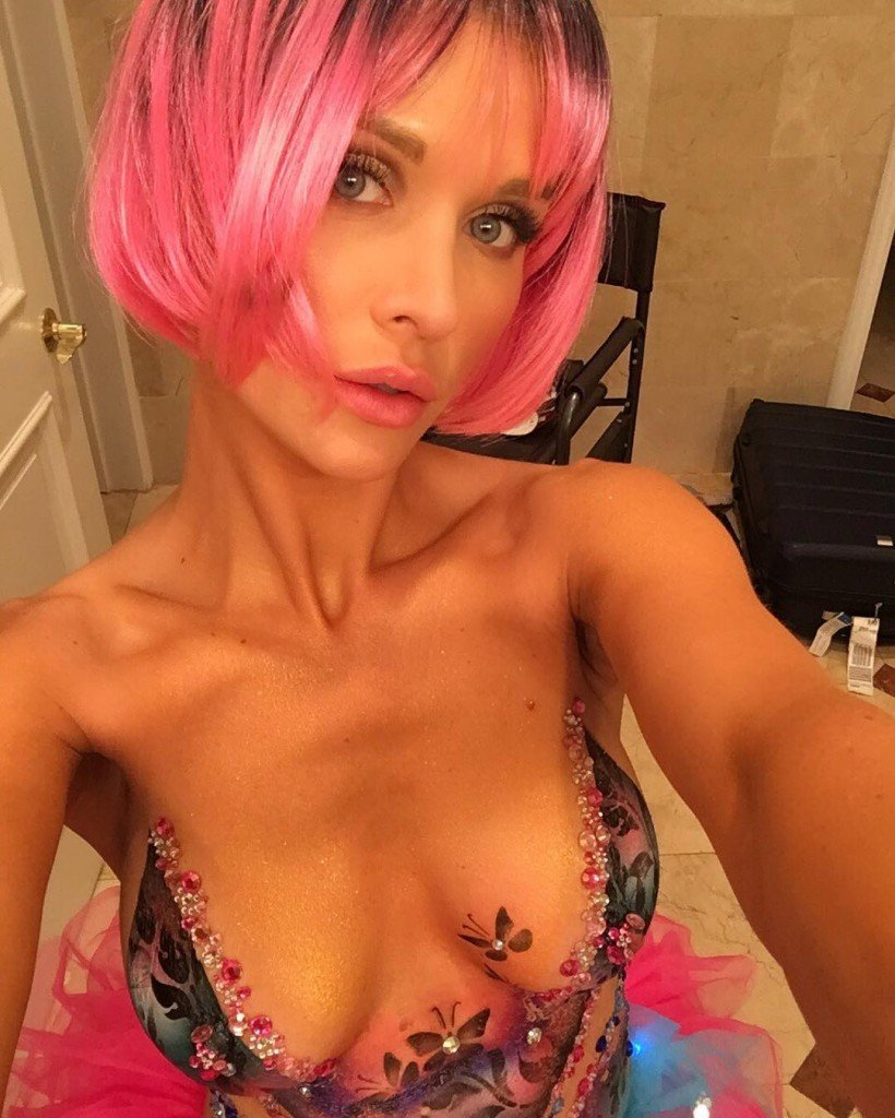 Joanna Krupa Body paint (35 Photos + Video)