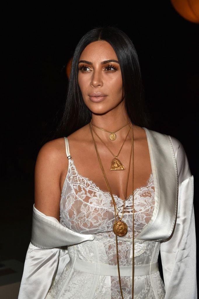 Kim Kardashian See Through-1