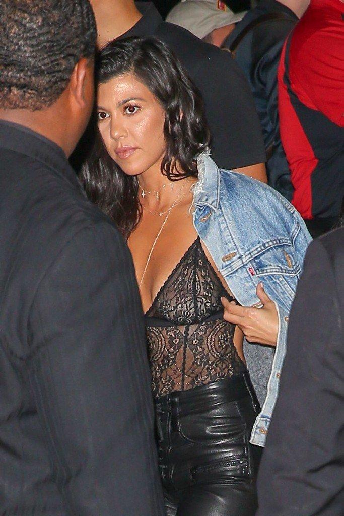 Can kourtney kardashian leaked nudes consider