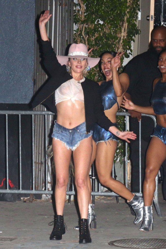 Lady Gaga See Through 1