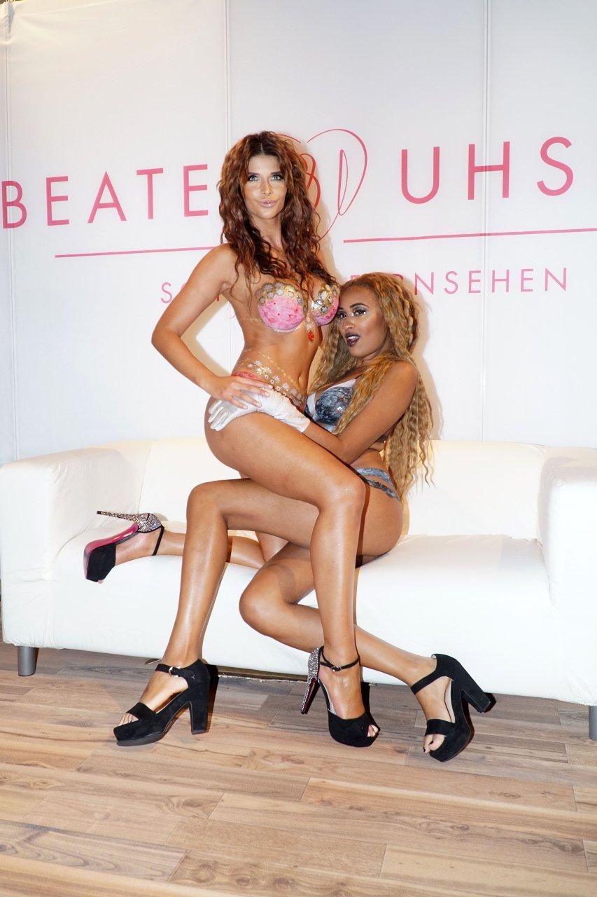 Micaela Schäfer & Sarah Joelle Jahnel Sexy (15 Photos + 2