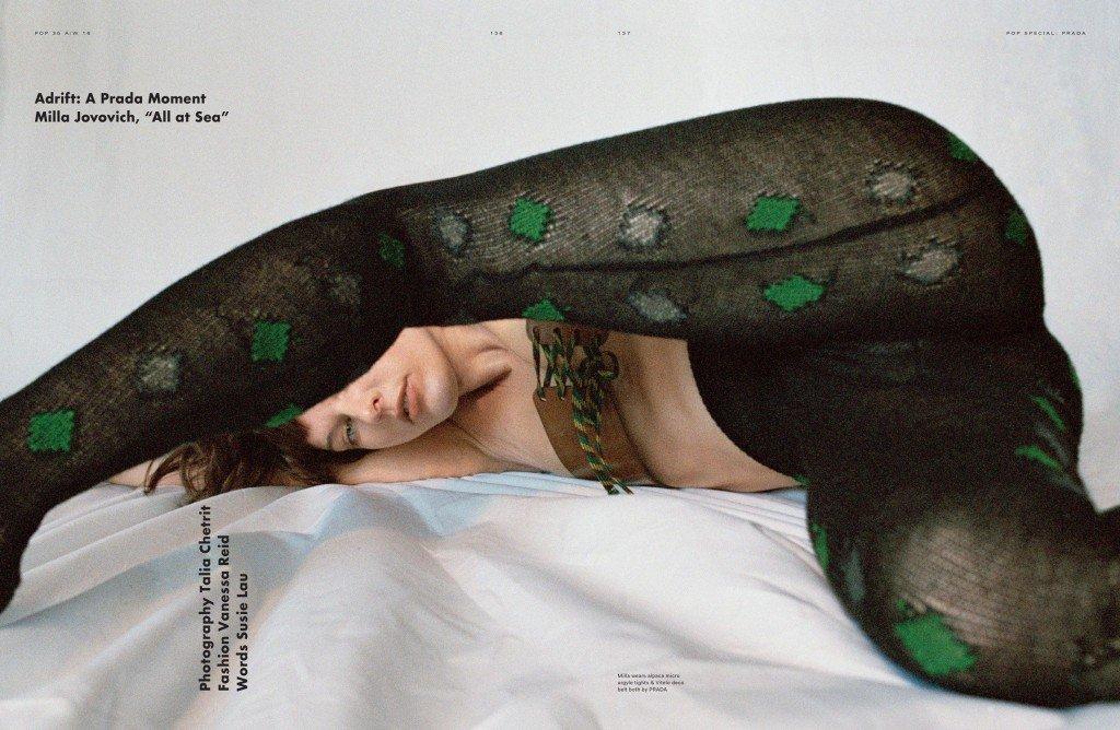 Milla Jovovich Sexy Topless 12