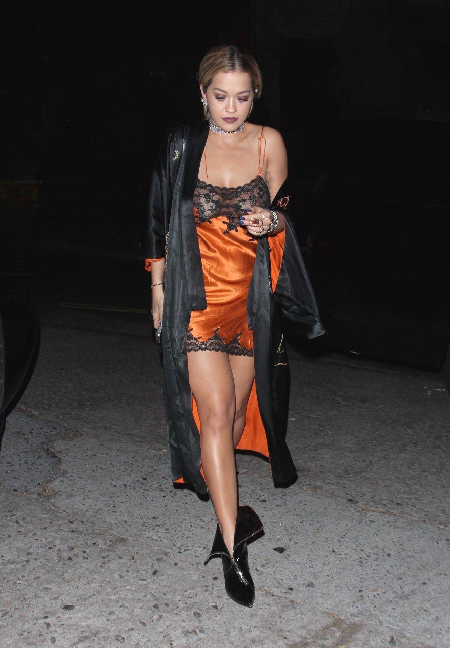 Rita Ora See Through (9 Photos)