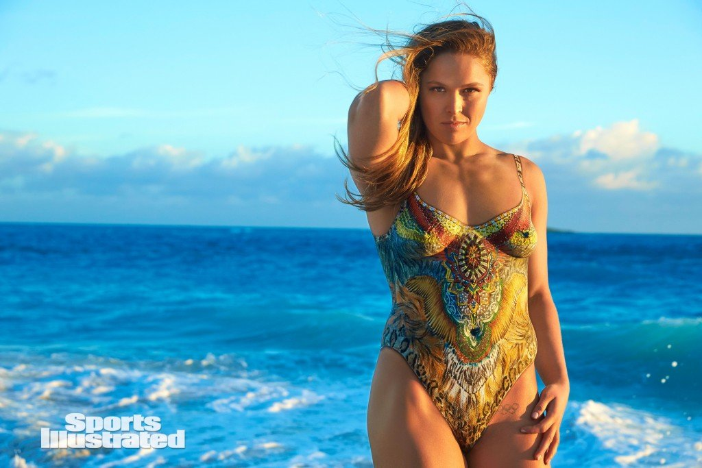 Ronda Rousey Body paint 1