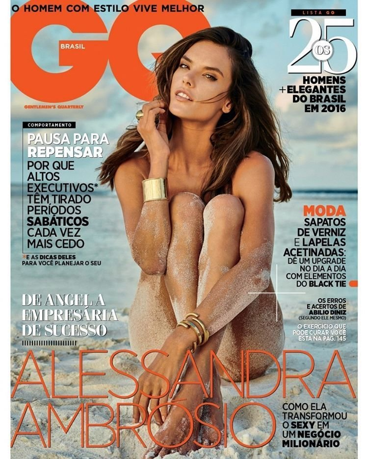 Alessandra Ambrosio Nude Sexy 1