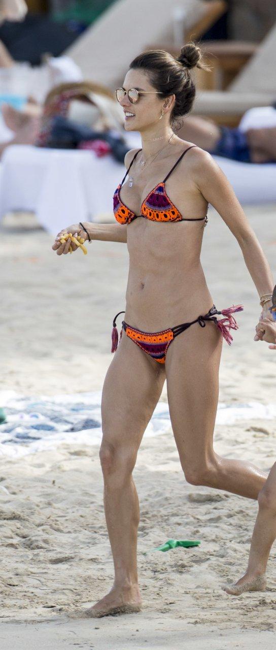 I'd love Alessandra ambrosio free nude pics sexy too