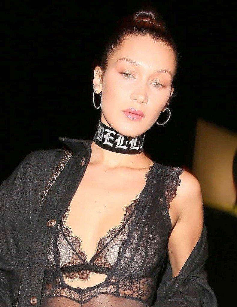 Bella Hadid See Through (16 Photos)
