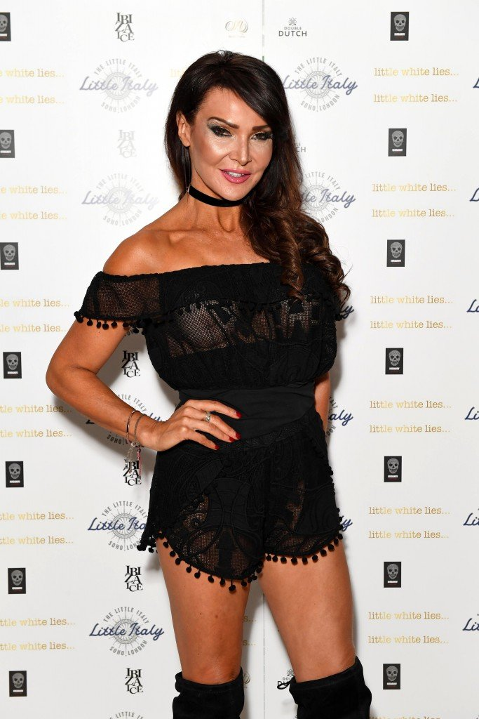 Lizzie Cundy See Through 12