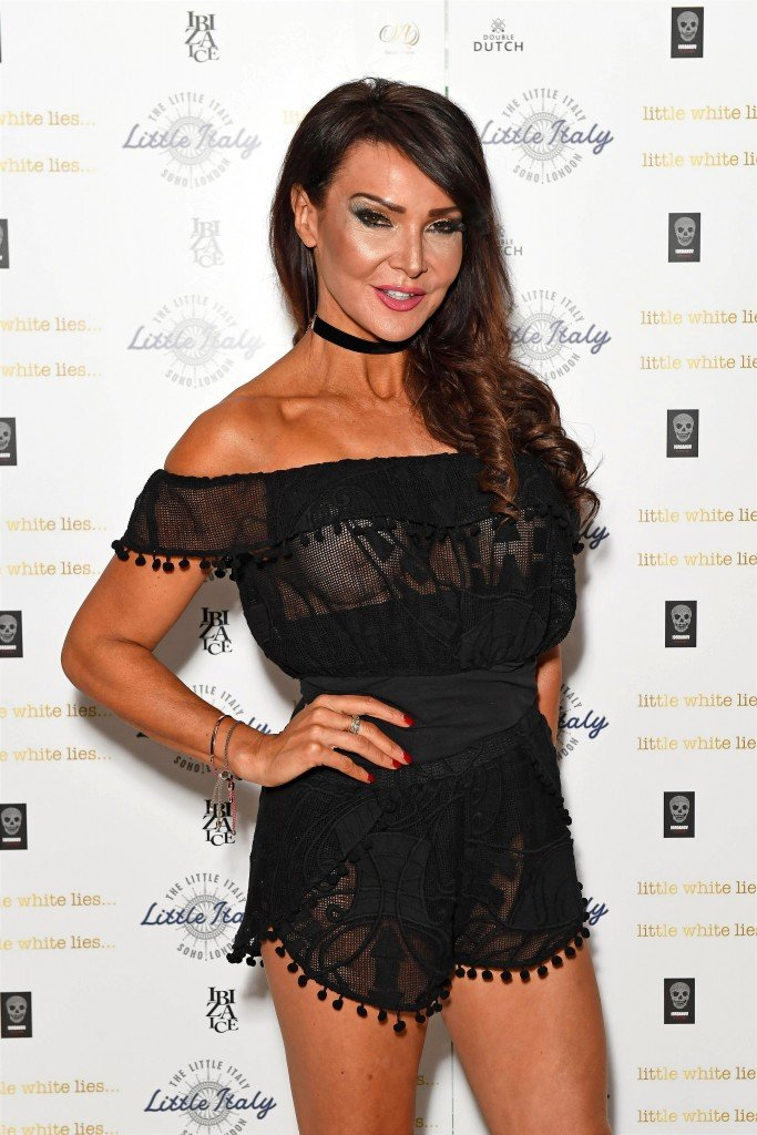 Lizzie Cundy See Through 13