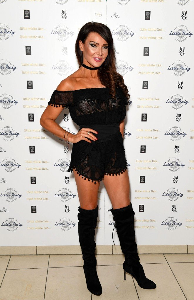 Lizzie Cundy See Through 14