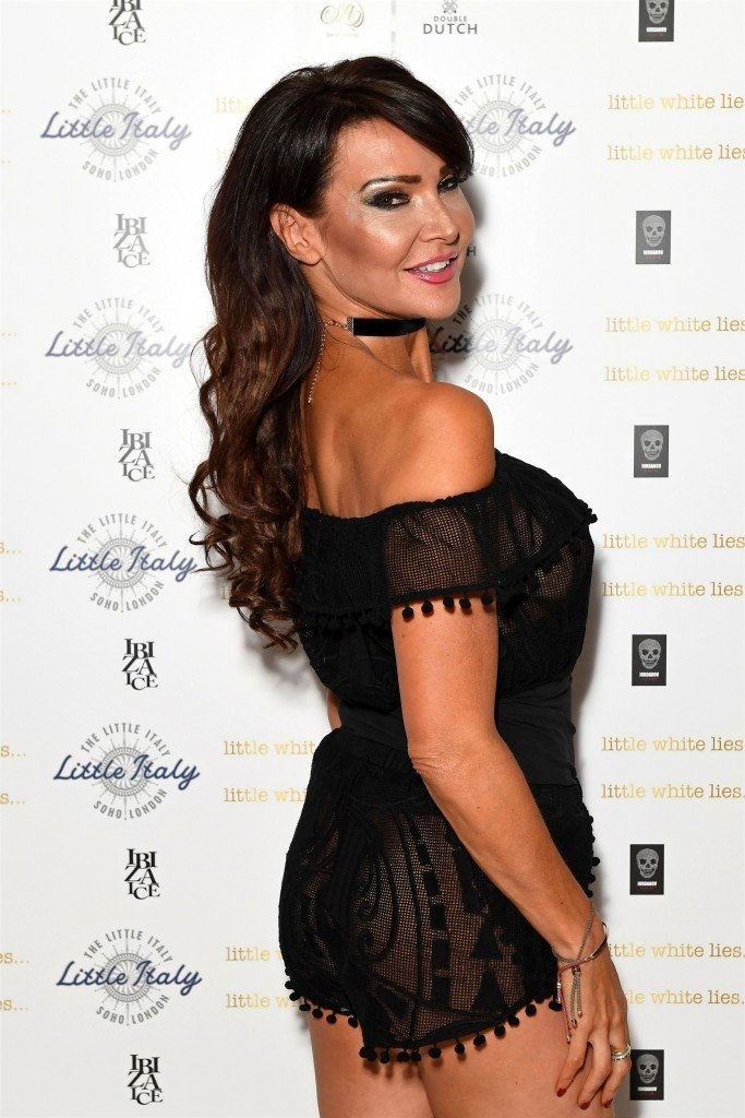 Lizzie Cundy See Through 16