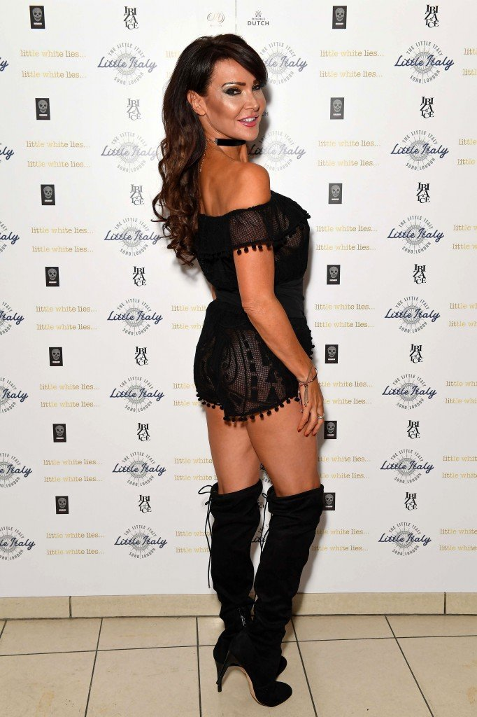Lizzie Cundy See Through 17