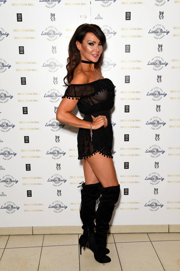 Lizzie Cundy See Through 18
