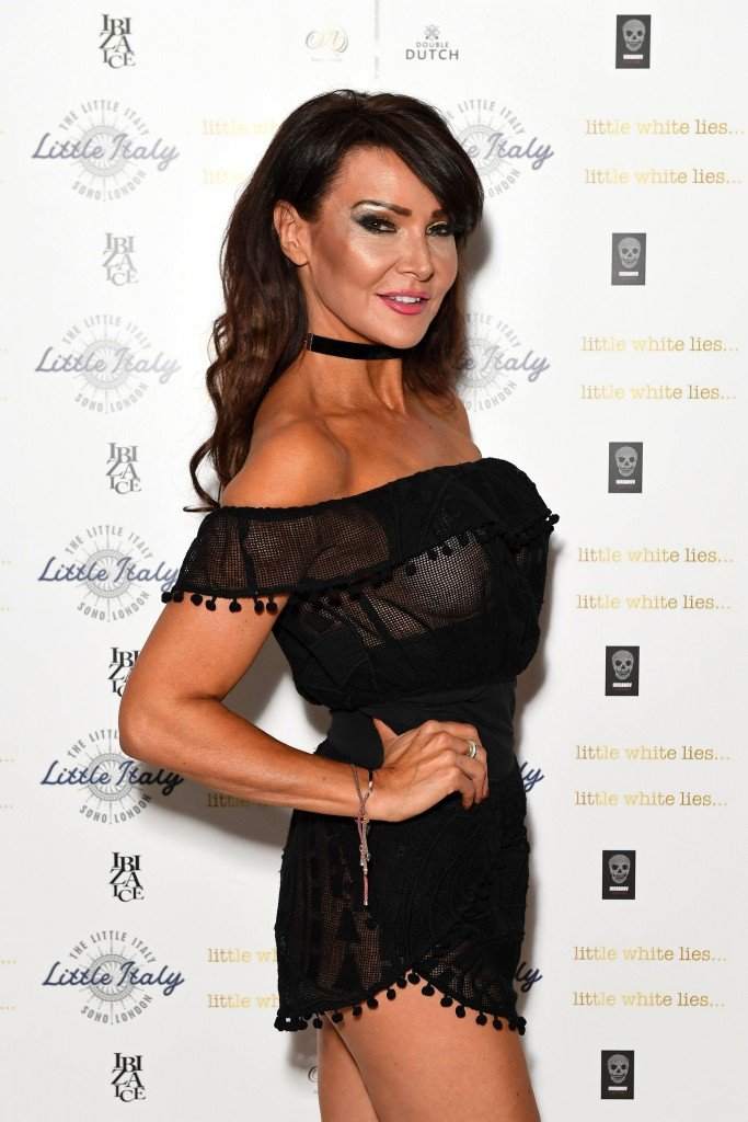 Lizzie Cundy See Through 19