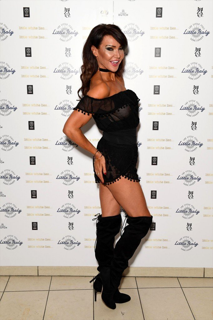 Lizzie Cundy See Through 20