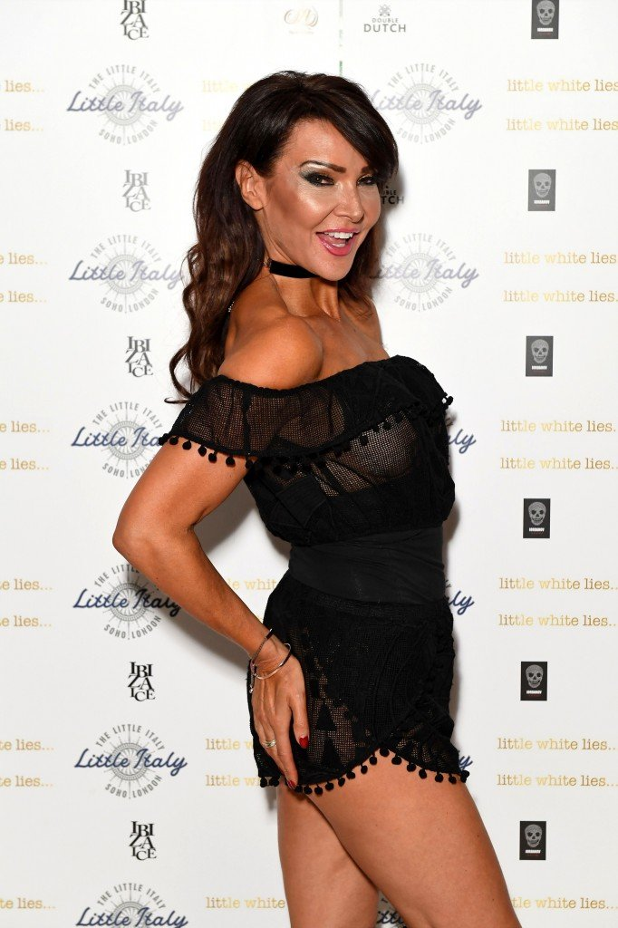 Lizzie Cundy See Through 21