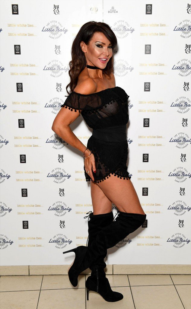 Lizzie Cundy See Through 22