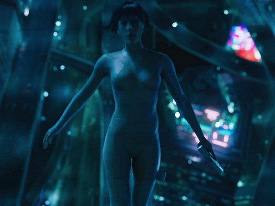 Scarlett Johansson CGI Body 06