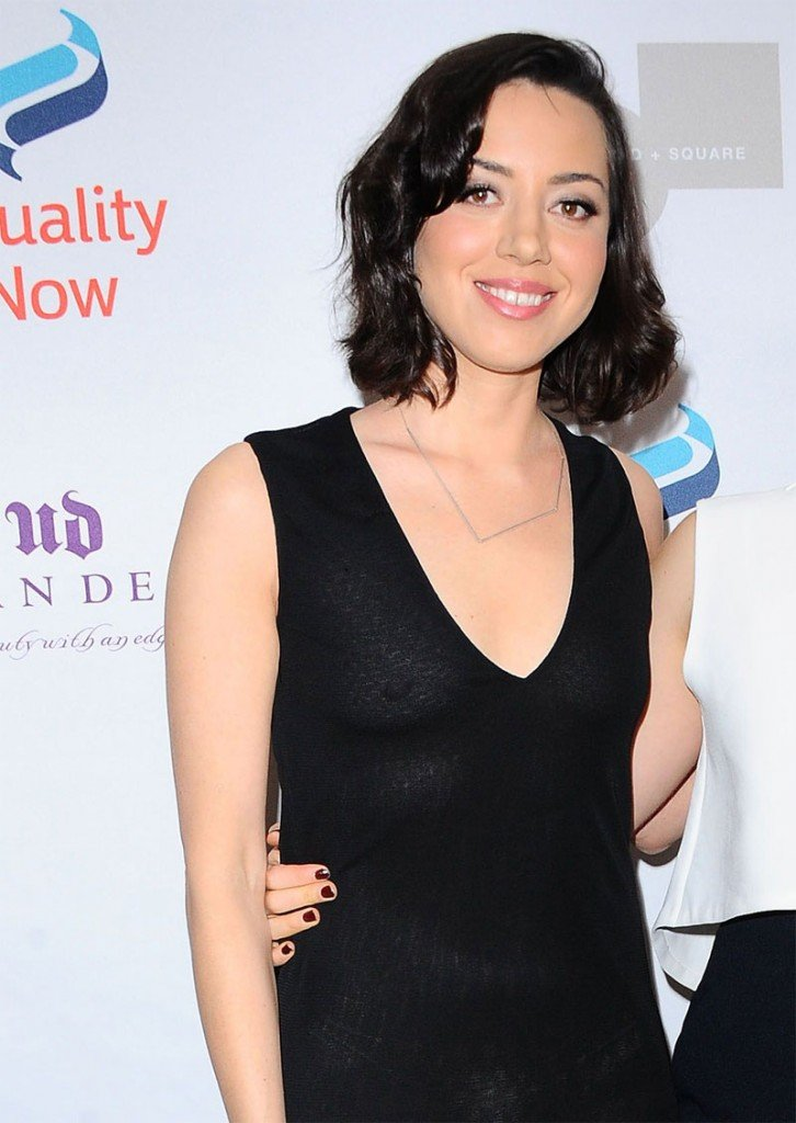Aubrey Plaza Braless thefappening.so 23