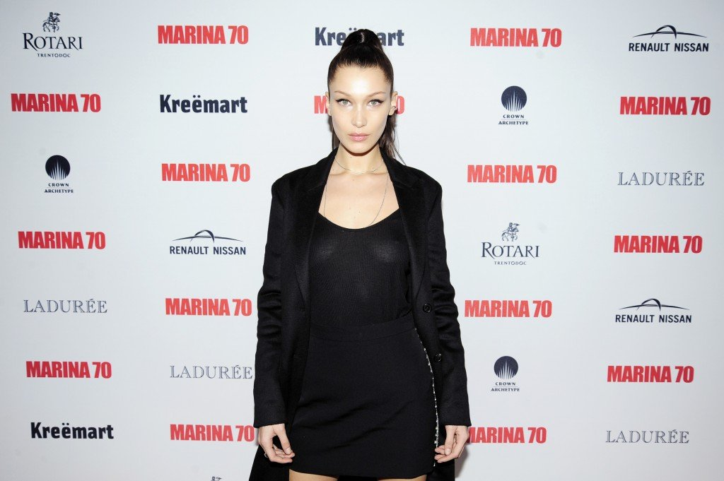 Bella Hadid Braless thefappening.so 2