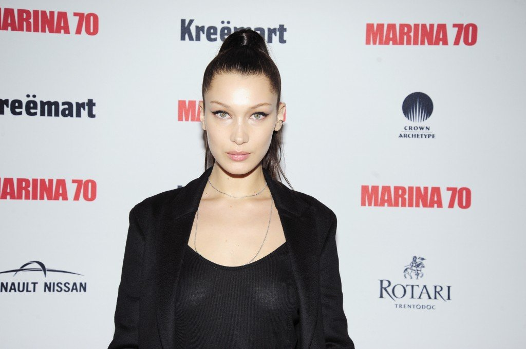 Bella Hadid Braless thefappening.so 3