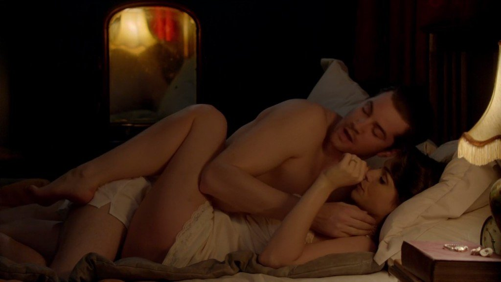 Charlotte riley close to the enemy s01e04 sex scenes