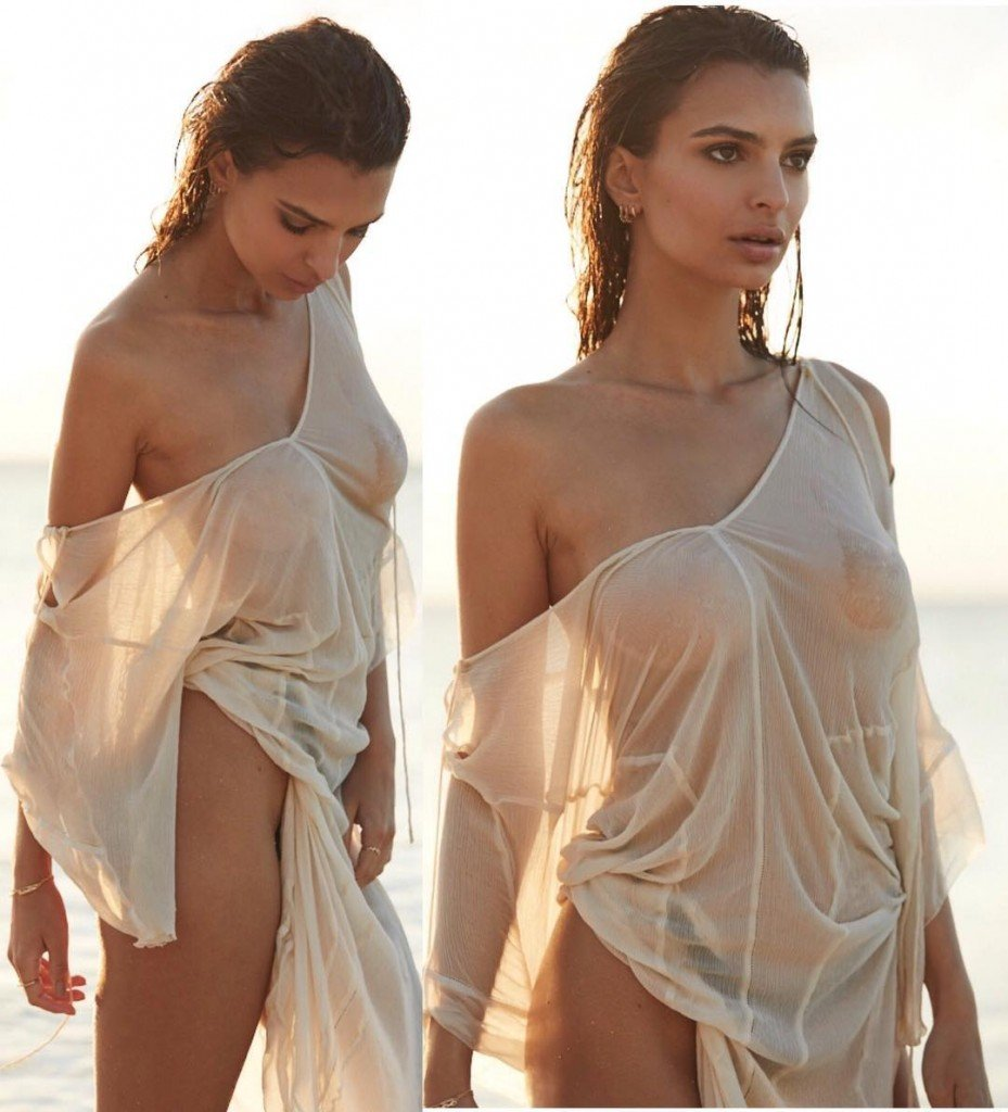 Emily Ratajkowski See Through