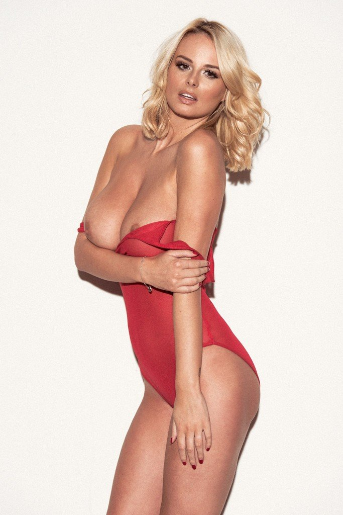 Rhian Sugden See Through & Topless 3