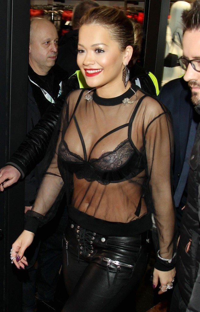 Rita Ora See Through 1