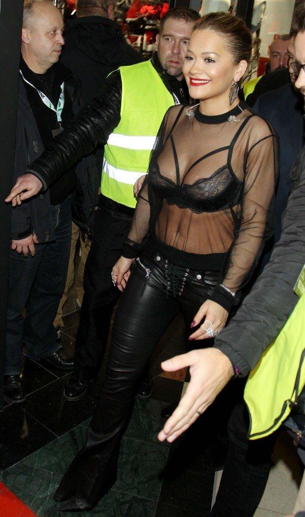 Rita Ora See Through (2 Photos)