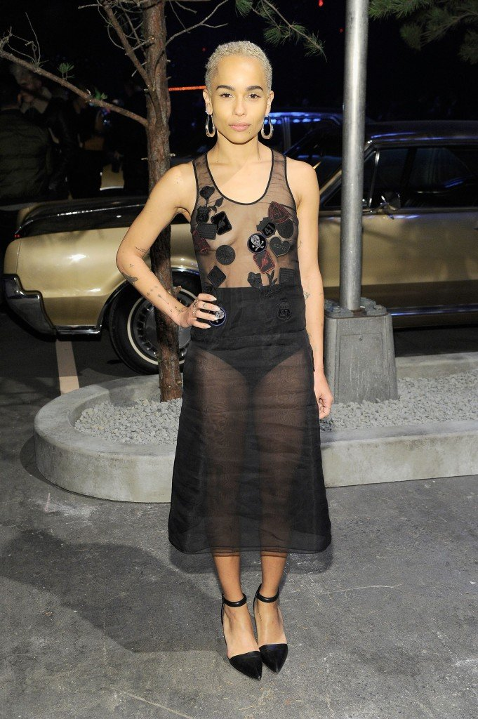 Zoe Kravitz Braless thefappening.so 1