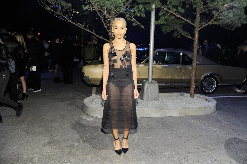 Zoe Kravitz Braless thefappening.so 4