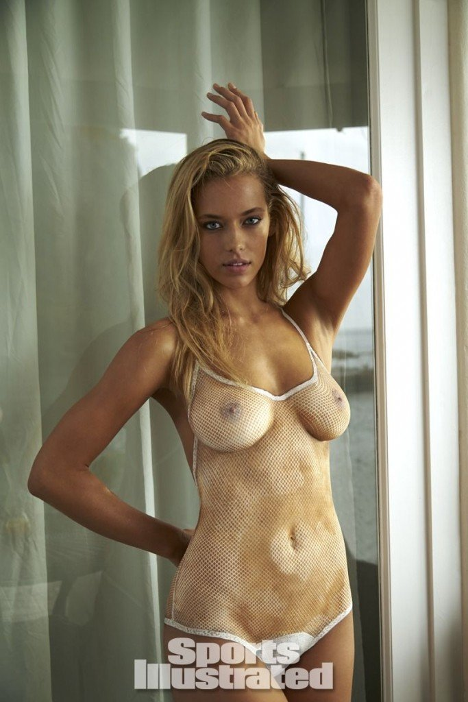 Hannah Ferguson in Body Paint thefappening.so 1