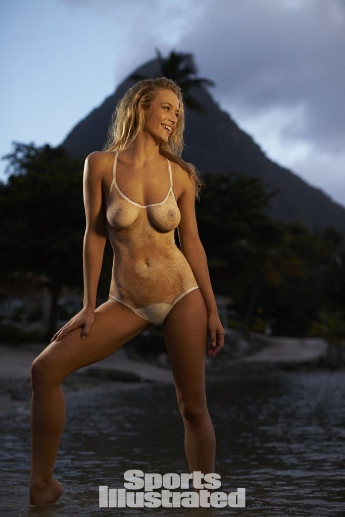 Hannah Ferguson in Body Paint thefappening.so 10