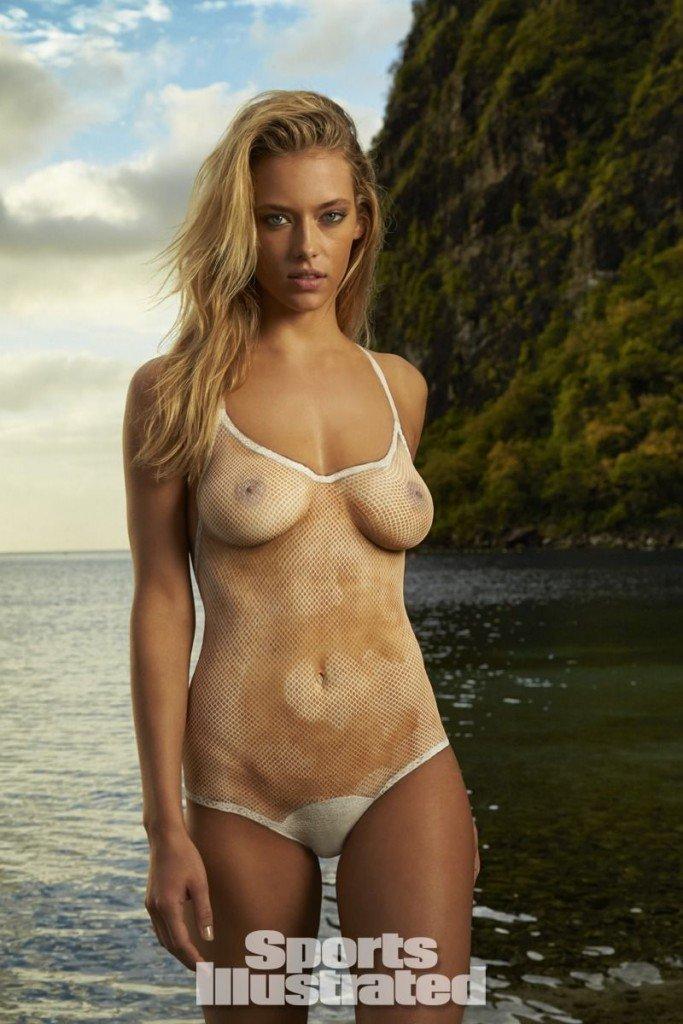 Hannah Ferguson in Body Paint thefappening.so 13