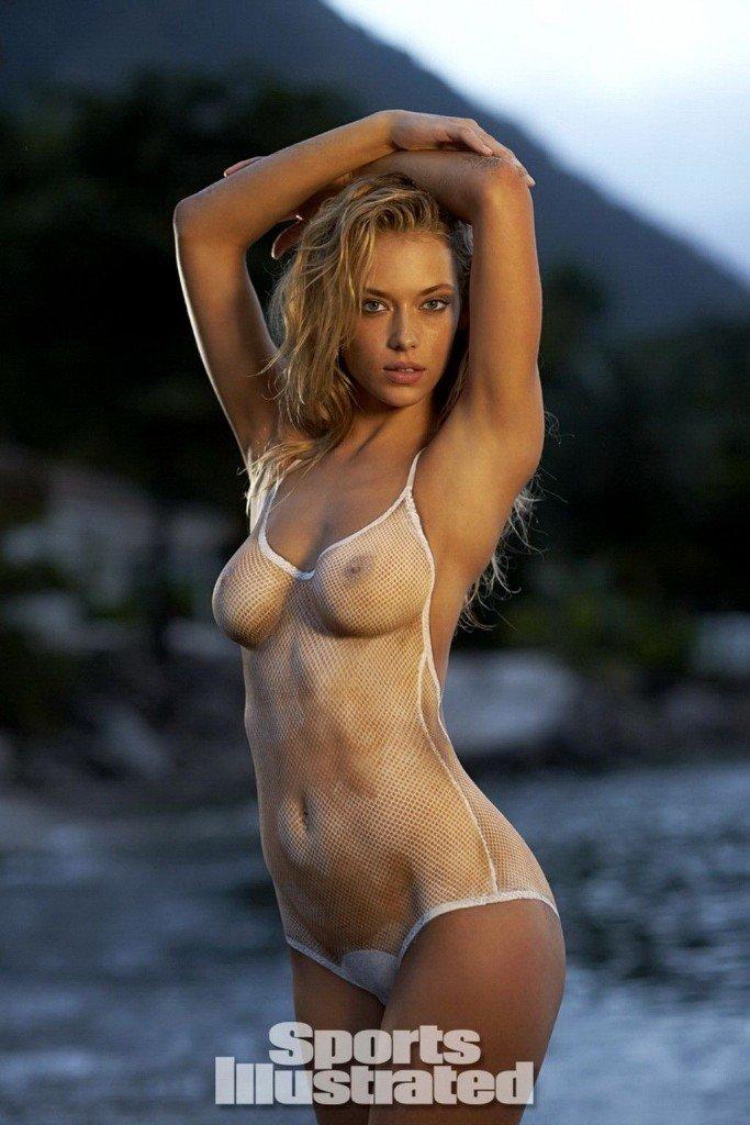 Hannah Ferguson in Body Paint thefappening.so 9